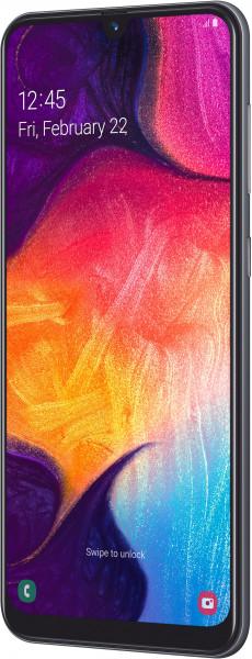 "Samsung Galaxy A50 DualSim schwarz 128GB LTE Android Smartphone 6,4"" 25 MPX"