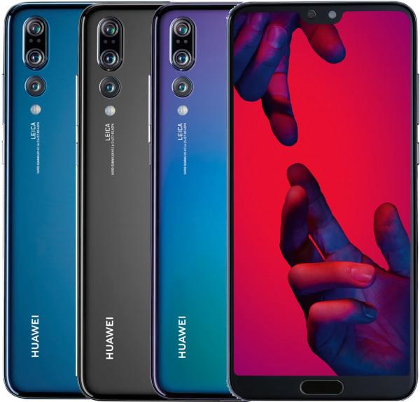 "Huawei P20 Pro DualSim 128GB LTE Android Smartphone 6,1"" 40MPX Triple-Kamera"