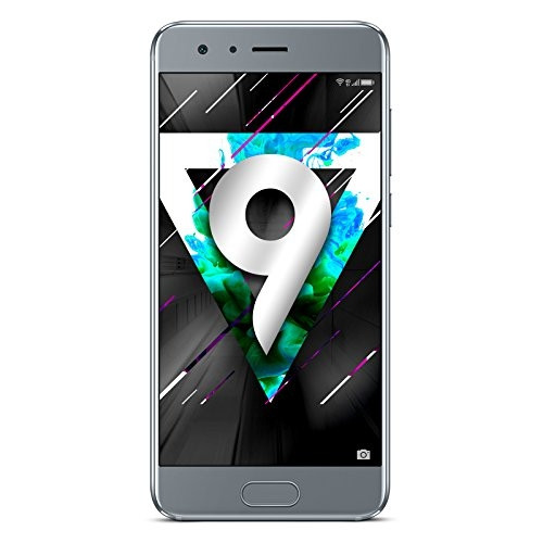 "Honor 9 DualSim grau 64GB LTE Android Smartphone o. Simlock 5,15"" Display 20MPX"