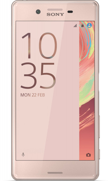 """Sony Xperia X rosa gold 32GB 5"""" Display LTE 23MP Android Smartphone ohne Simlock"""