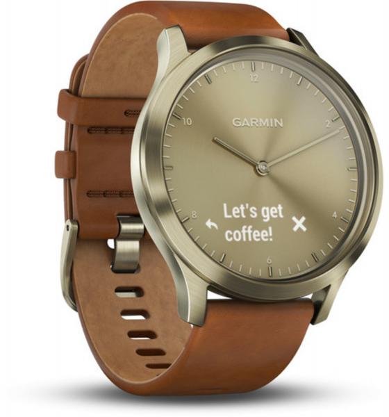 Garmin Vivomove HR Premium Gold Smartwatch Fitness Tracker Herzfrequenz BT