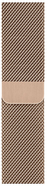 Apple Watch Armband Milanese Loop gold 44mm