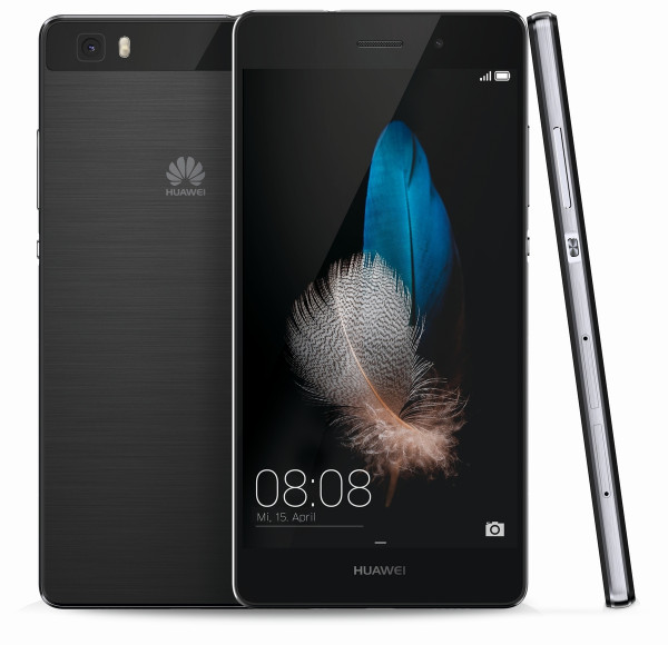 "Huawei P8 Lite Schwarz 5"" Android LTE Single-Sim Android Smartphone ohne Simlock"