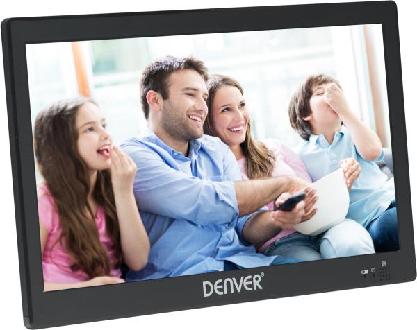 """Denver LED TV LED-1031 mobiler Fernseher 10,1"""" Display inkl. DVB-T2 Tuner"""