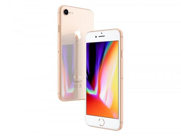 "Apple iPhone 8 Gold 128GB LTE iOS Smartphone 4,7"" Retina Display 12 Megapixel"