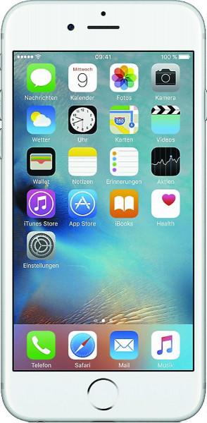 Apple iPhone 6s Plus 32GB Silber IOS LTE Smartphone ohne Vertrag ohne Simlock