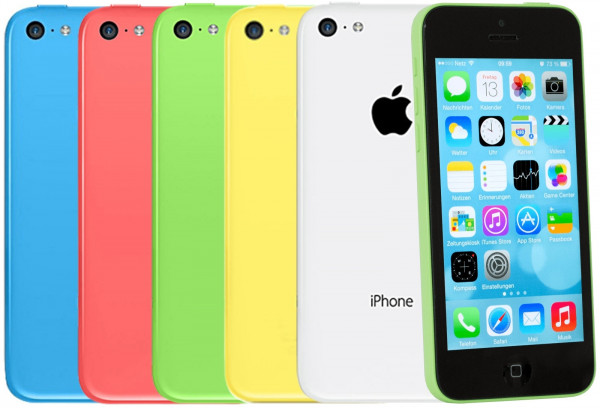 "Apple Iphone 5c 8GB 16GB 32GB LTE iOS Smartphone 4"" Retina Display 8 Megapixel"