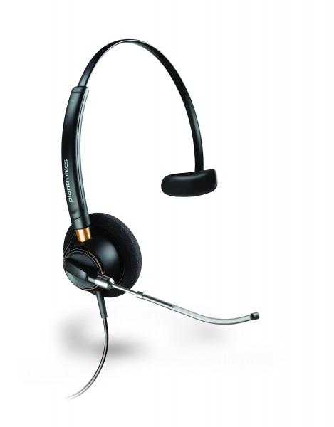 Plantronics Business Headset EncorePro monaural (HW510V) kabelgebunden schwarz