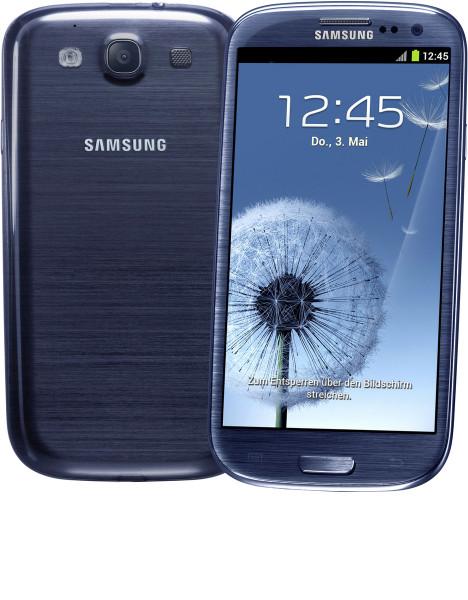 "Samsung Galaxy S3 i9300 blau 16GB Android Smartphone 4,8"" Display ohne Simlock"