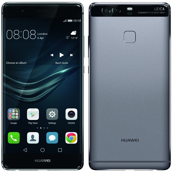 "Huawei P9 grau 32GB LTE Android Smartphone 5,2"" ohne Simlock 12MPX Leica Kamera"
