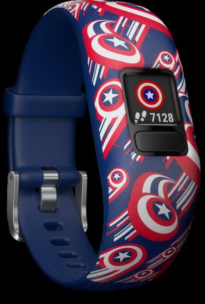 Garmin vivofit jr 2 Marvel Avengers, wasserdicht, Fitness Tracker für Kinder