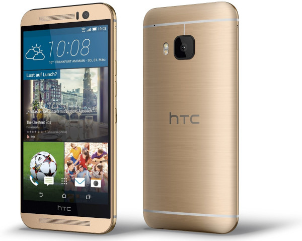 """HTC One M9 gold 32GB LTE Android Smartphone ohne Simlock 5"""" Display 20 Megapixel"""