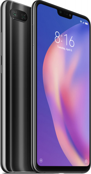 Xiaomi Mi 8 lite DualSim midnight schwarz 128GB