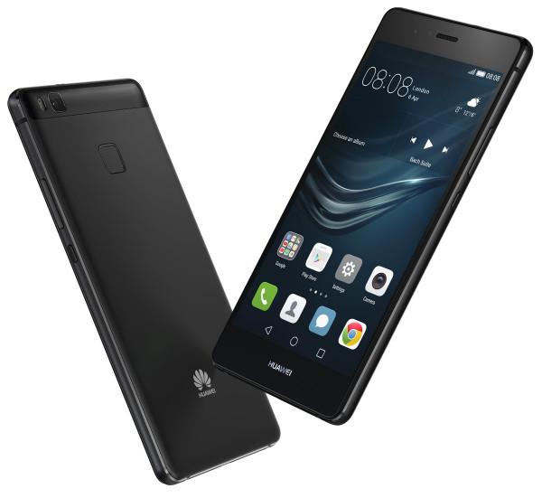 "Huawei P9 Lite schwarz 16GB Telekom LTE Android Smartphone 5,2"" Display 13MPX"