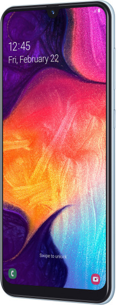 "Samsung Galaxy A50 DualSim weiß 128GB LTE Android Smartphone 6,4"" Display 25 MPX"
