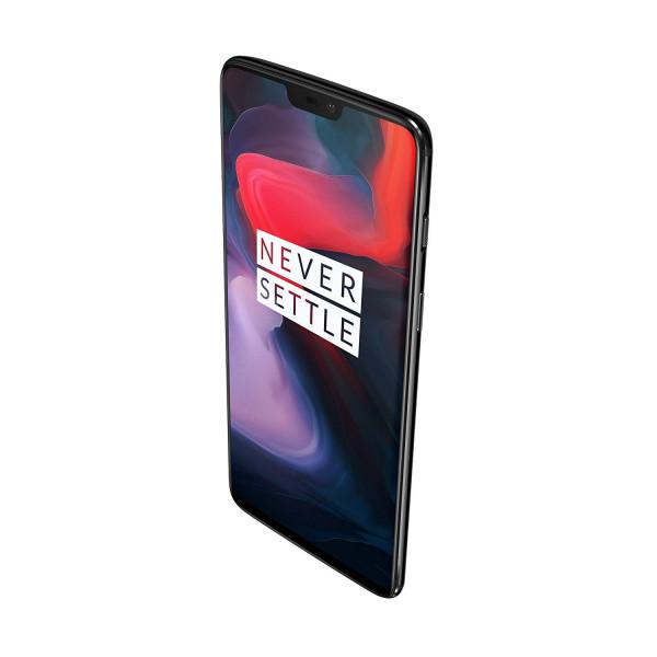 """OnePlus 6 DualSim Mirror schwarz 128GB LTE Android Smartphone 6,28"""" 20 MPX"""