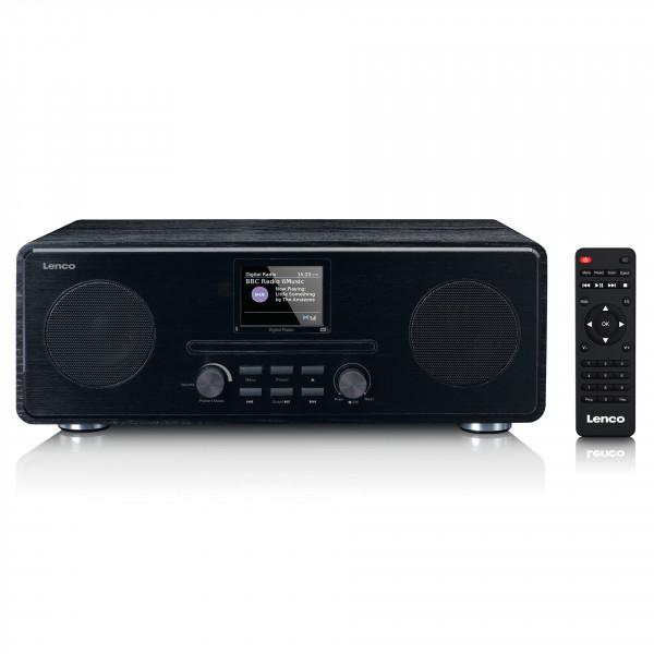 LENCO DAB+, FM Radio mit CD, MP3 Player, BT, RC