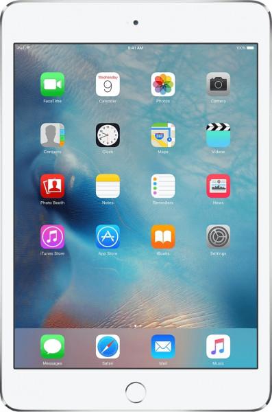 Apple IPad Mini 4 Wi-Fi Cellular 64GB Silber