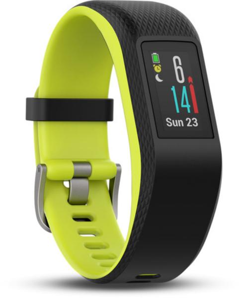 Garmin Vivosport schwarz/lime M/L Smartwatch Fitness Tracker Schlaf Tracker BT