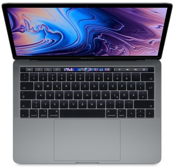 "Apple MacBook Pro 13"" i5 1,4GHz 16GB 256GB SSD grau 2019"