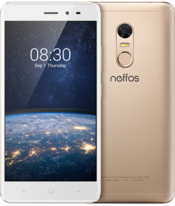 "Neffos X1 Lite DualSim gold 16GB LTE Android Smartphone 5"" Display 13 MPX"