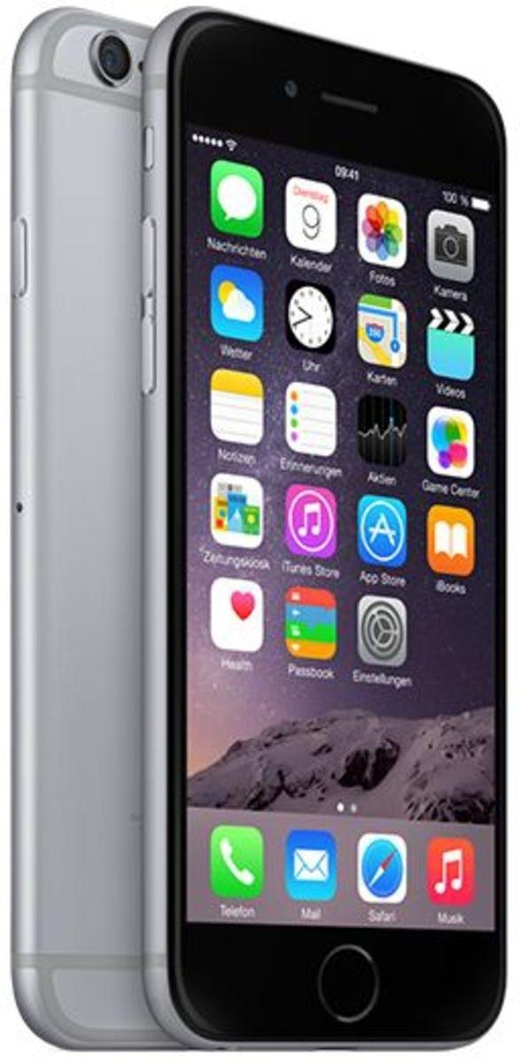 apple iphone 6 64gb spacegrau gebraucht gut kaufen b ware bei. Black Bedroom Furniture Sets. Home Design Ideas