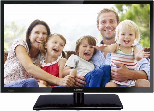 "Lenco LED-2422 23,6"" HD LED-Fernseher mit DVB-T2, USB"