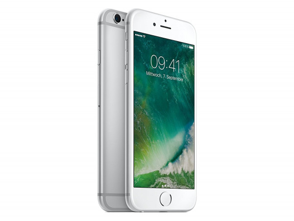 "Apple iPhone 6s 128GB Silber LTE iOS Smartphone ohne Simlock 4,7"" Display 12MPX"