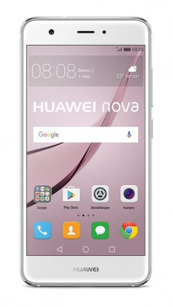 "Huawei Nova silber 32GB DualSim LTE Android Smartphone ohne Simlock 5"" Display"