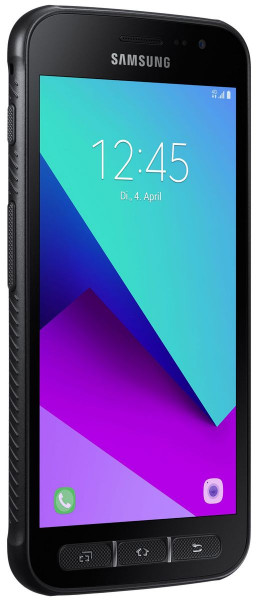 Samsung G390F Galaxy Xcover 4 schwarz 16GB LTE Android Outdoor Smartphone