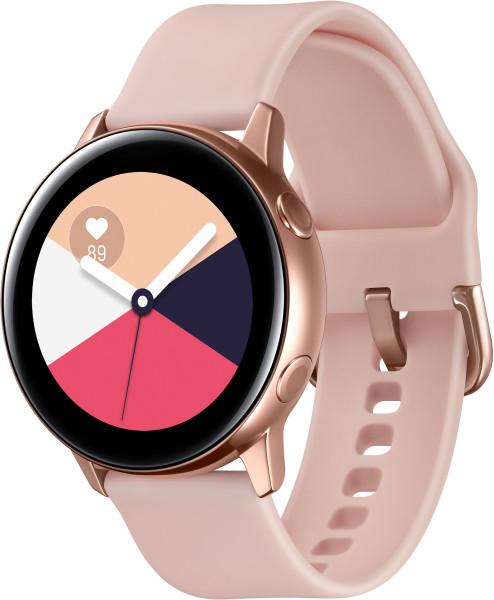 Samsung Galaxy Watch Active SM-R500 rose gold Smartwatch NFC WLAN Bluetooth