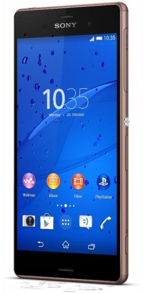 Sony Xperia Z3 kupfer 16GB LTE Android Smartphone 5,2 Zoll Display ohne Simlock