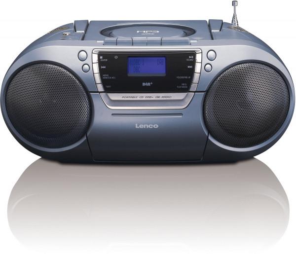 Lenco SCD-680 Tragbares Radio mit CD-Player DAB+ & USB Blau