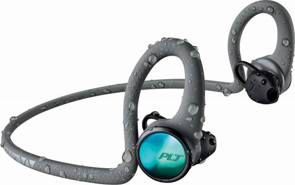 Plantronics BACKBEAT FIT 2100 GREY WW USB Bluetooth Sport Kopfhörer waterproof