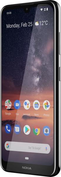 "Nokia 3.2 DualSim schwarz 16GB LTE Android Smartphone 6,26"" Display 13 MPX"