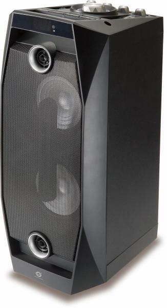 Conceptronic Wireless Bluetooth Disco Speaker Schwarz