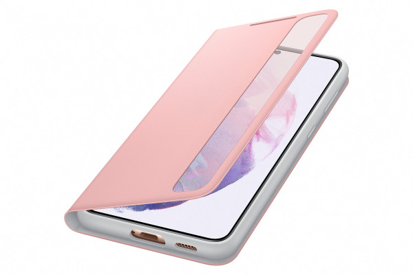 Samsung Smart Clear View Cover EF-ZG996 für Galaxy S21+, Pink