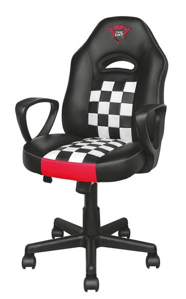 Trust Gaming Stuhl GXT 702 Ryon Junior ergonomisch 360° drehbar Armlehne