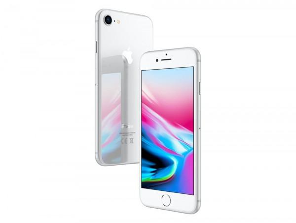 "Apple iPhone 8 64GB Silber LTE iOS Smartphone ohne Simlock 4,7"" Display 12MPX"