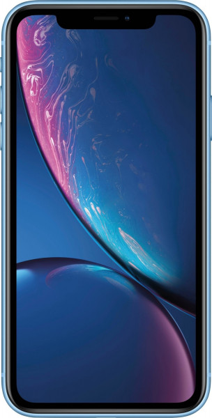 "Apple iPhone XR Blau 128GB LTE iOS Smartphone 6,1"" Display 12 Megapixel eSim 4K"