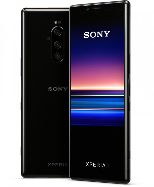 "Sony Xperia 1 DualSim schwarz 128GB LTE Android 6,5"" 21.9 Display 12 Megapixel"