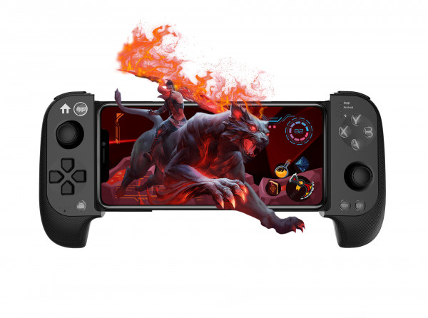 Mobile Smartphone Controller topp Gaming Remus rot blau für iOS Android Windows
