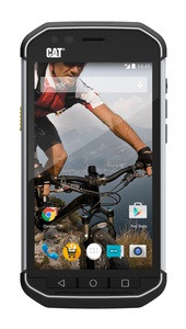 """CAT S40 DualSim schwarz silber 16GB LTE Android Outdoor Smartphone 4,7"""" 8MPX"""
