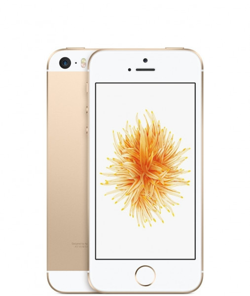 Apple iPhone SE 16GB Gold 4 Zoll Display LTE iOS Smartphone ohne Simlock