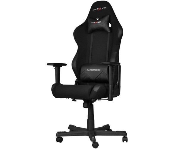 DXRacerFormula Gaming Stuhl R-Serie Racing Stoff-Mesh schwarz