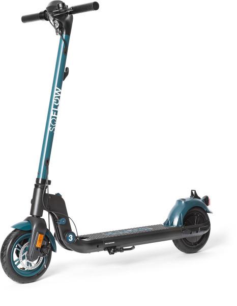 SOFLOW - SO3 E-Scooter black/green mit dt. Straßenzulassung Wie Neu
