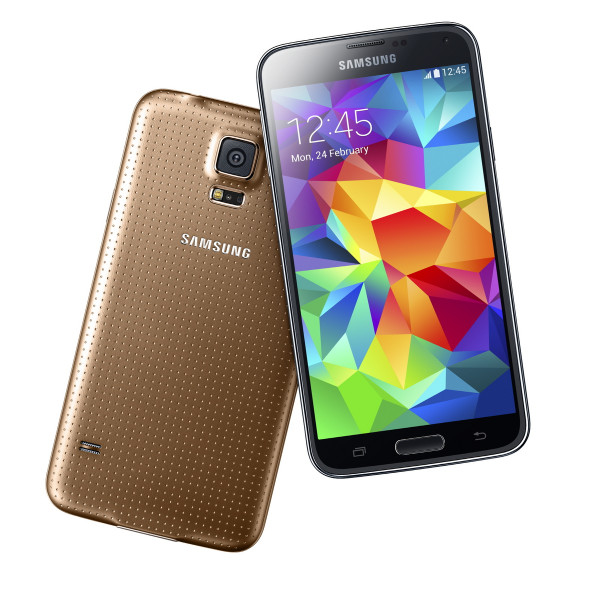 "Samsung Galaxy S5 gold 16GB LTE Android Smartphone 5,1"" Display ohne Simlock"