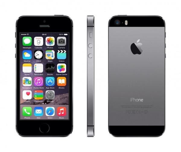Apple iPhone 5s 16GB IOS Smartphone ohne Simlock 4 Zoll Display 8MPX Kamera