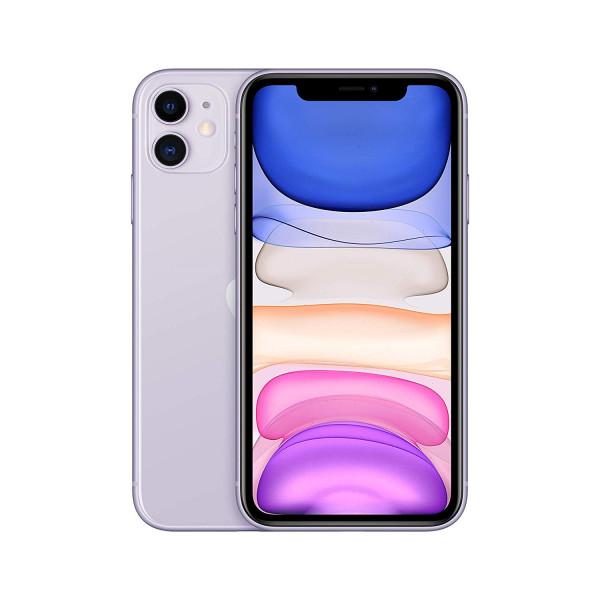 "Apple iPhone 11 violett 128GB LTE iOS Smartphone 6,1"" Retina Display 12 MPX eSim"