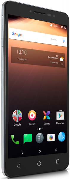 """ALCATEL A3 XL 9008D silber 16GB LTE Android Smartphone ohne Simlock 6"""" Display"""